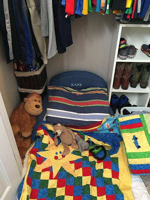 cozy closet