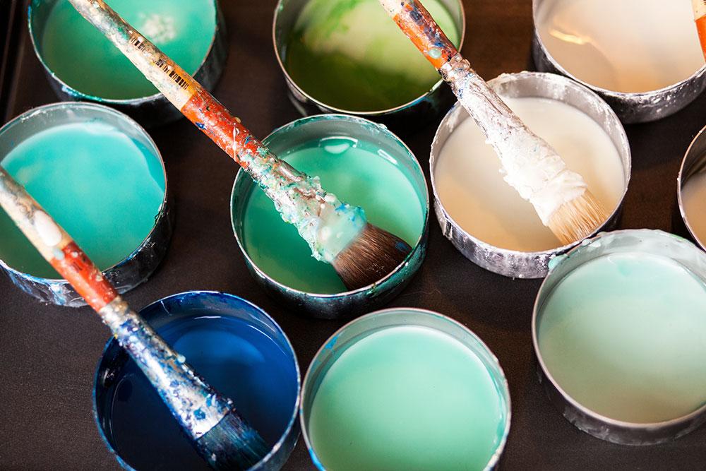 tambourine paint